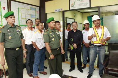 Pangdam XII/Tanjungpura Kunjungi BGA Group