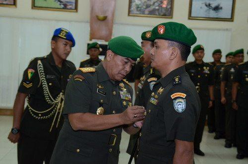 Pangdam IM Pimpin Sertijab Dua Pejabat Kodam