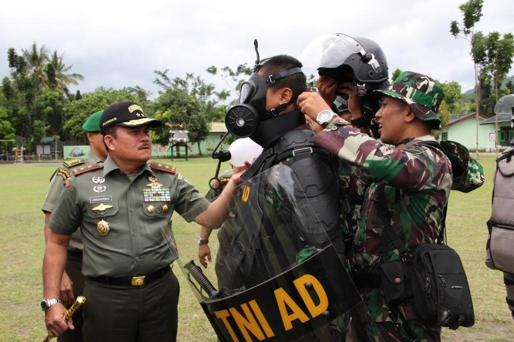 Prajurit Ksatria Pelindung Rakyat Siap Atasi Huru Hara di Pemilu Mendatang