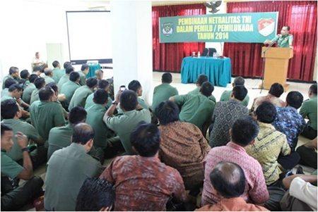 sos netralitas TNI rem 052