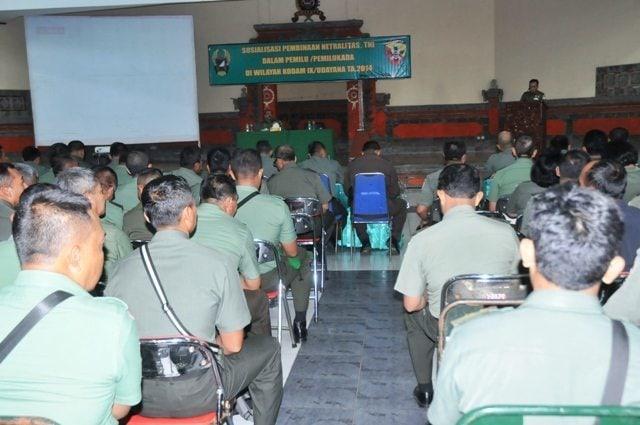 SOSIALISASI PEMBINAAN NETRALITAS TNI DAN KETAHANAN PANGAN
