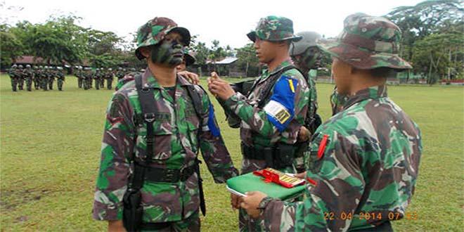 UST Tingkat Regu Jajaran Yonif 641/Raider Dibuka