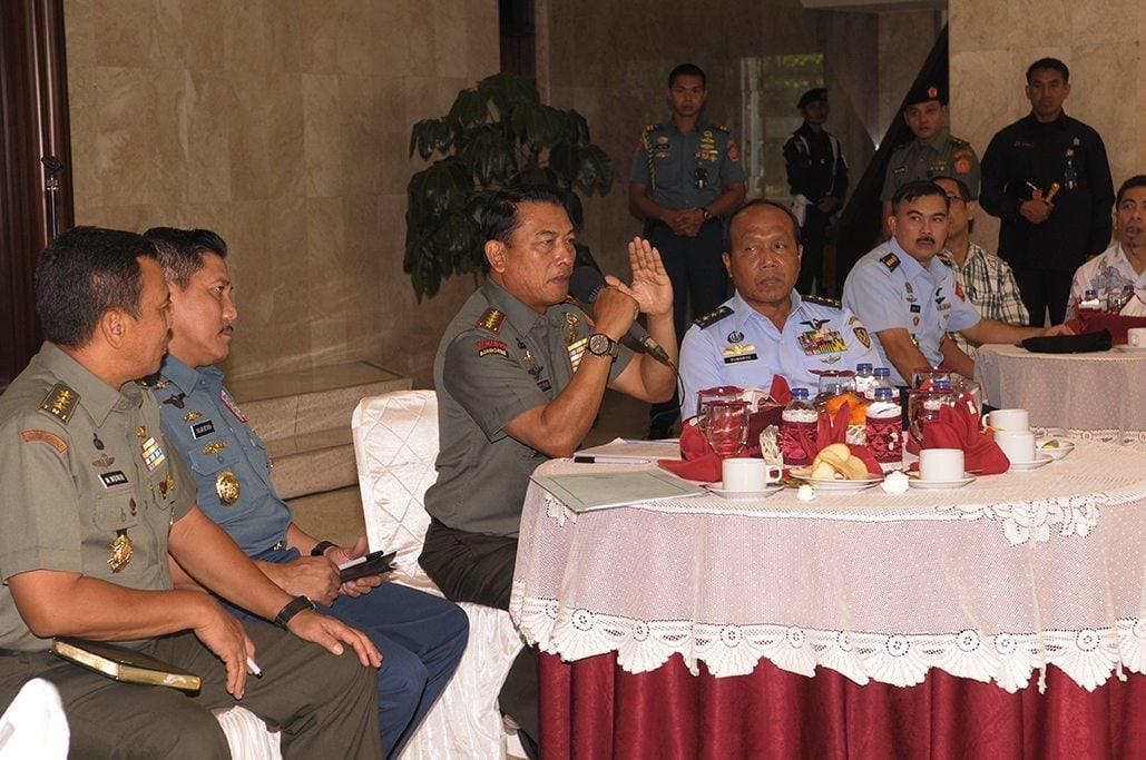Panglima TNI Tekankan Kembali Netralitas TNI Pada Pemilu 2014