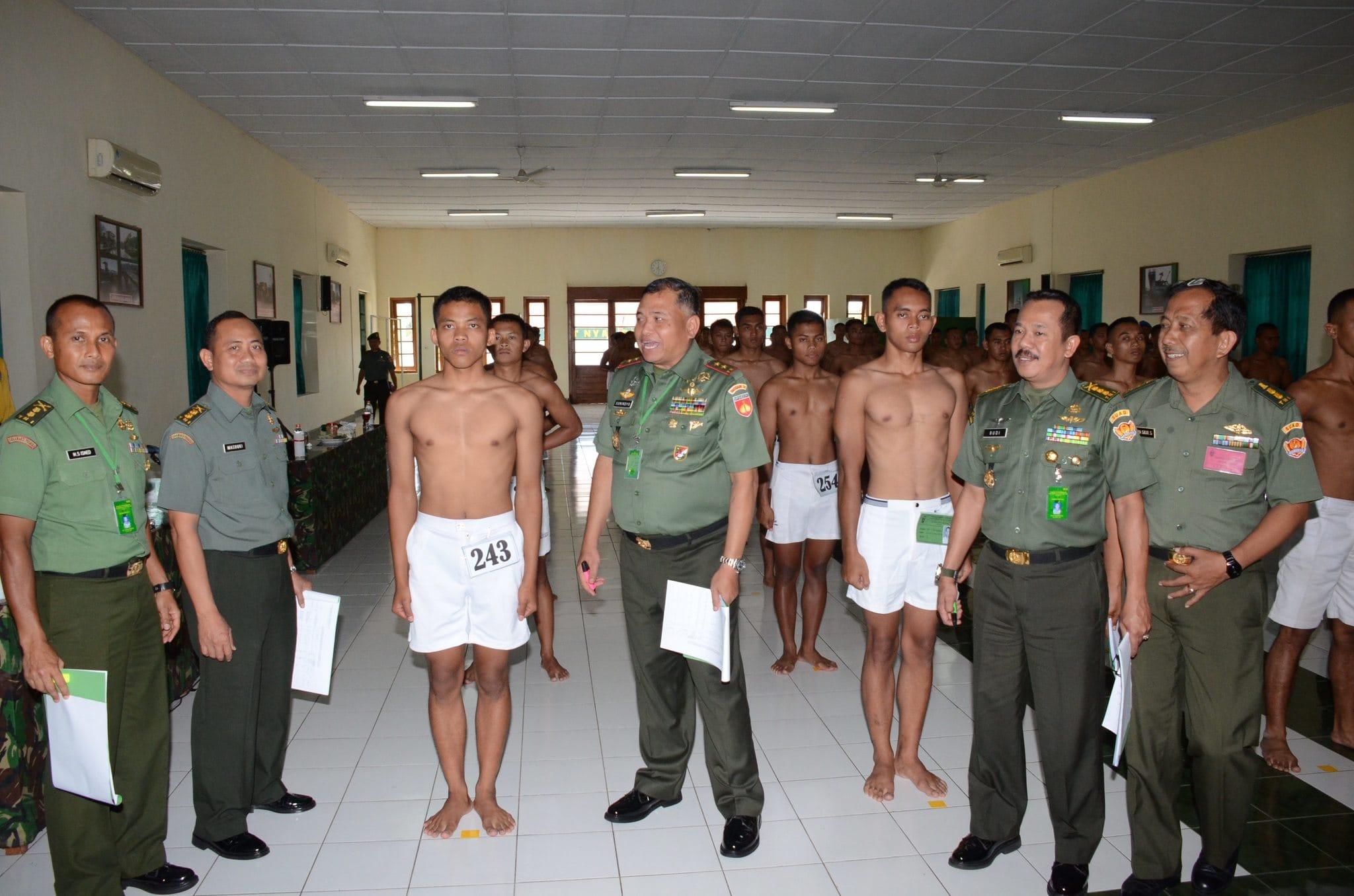 205 Calon Tamtama PK TNI AD Gelombang I TA 2014 Kodam IV/Diponegoro Lulus Pantukhir