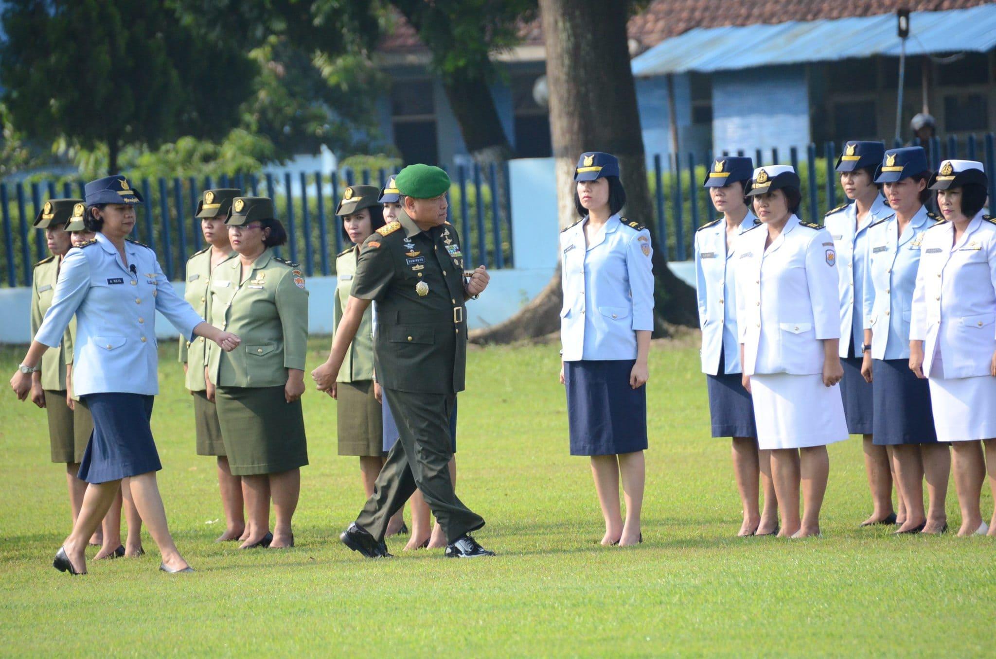 Korps Wanita TNI Militan Dan Profesional Wujudkan Visi Dan Misi TNI