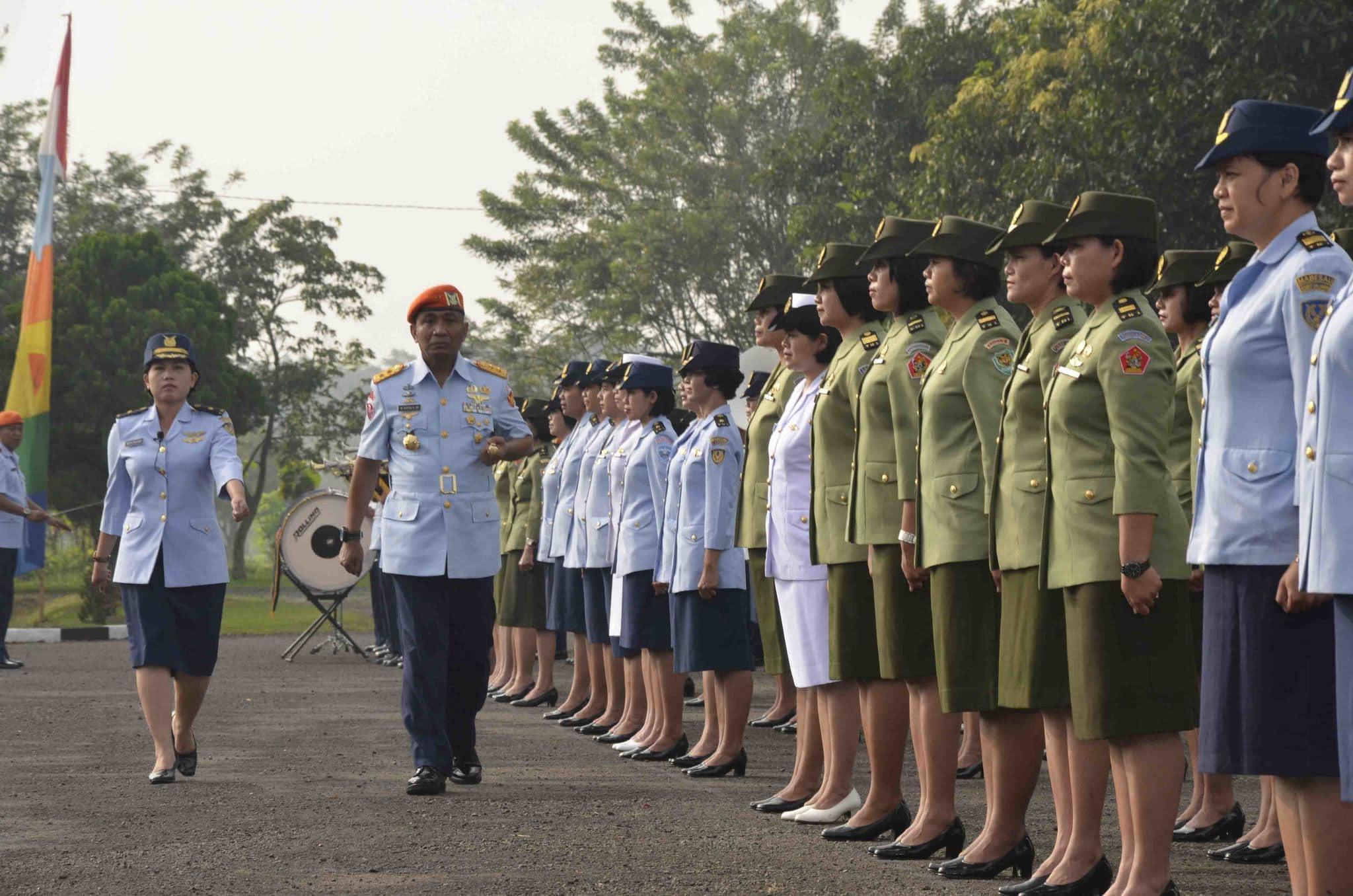 Wanita TNI Harus Bangun Semangat Cut Nya Dien