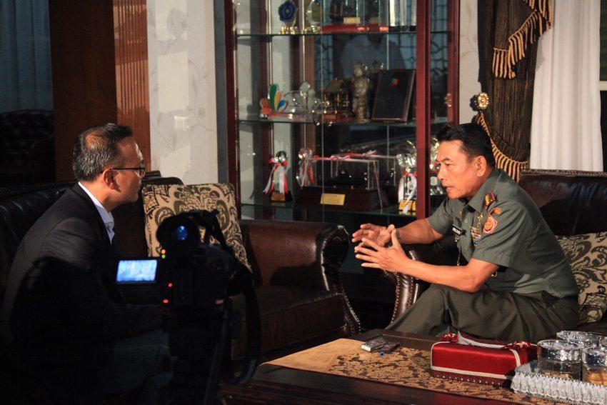 Panglima TNI : Koresponden Channel News Asia Salah Menafsirkan Kutipan