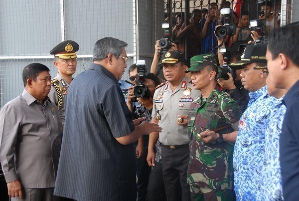 Pangdam Dampingi RI 1