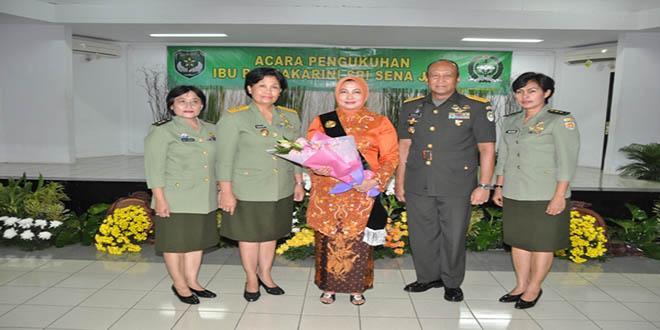 Ny. Rosita Mulyono Dikukuhkan Menjadi Raksakarini Sri Sena Jaya