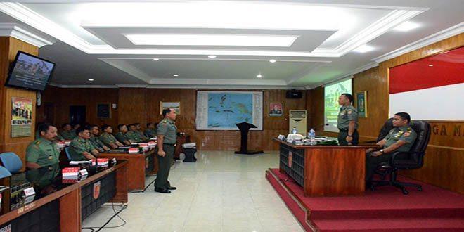 Satuan Teritorial Kodam XVI/Pattimura Laksanakan Lomba Binter