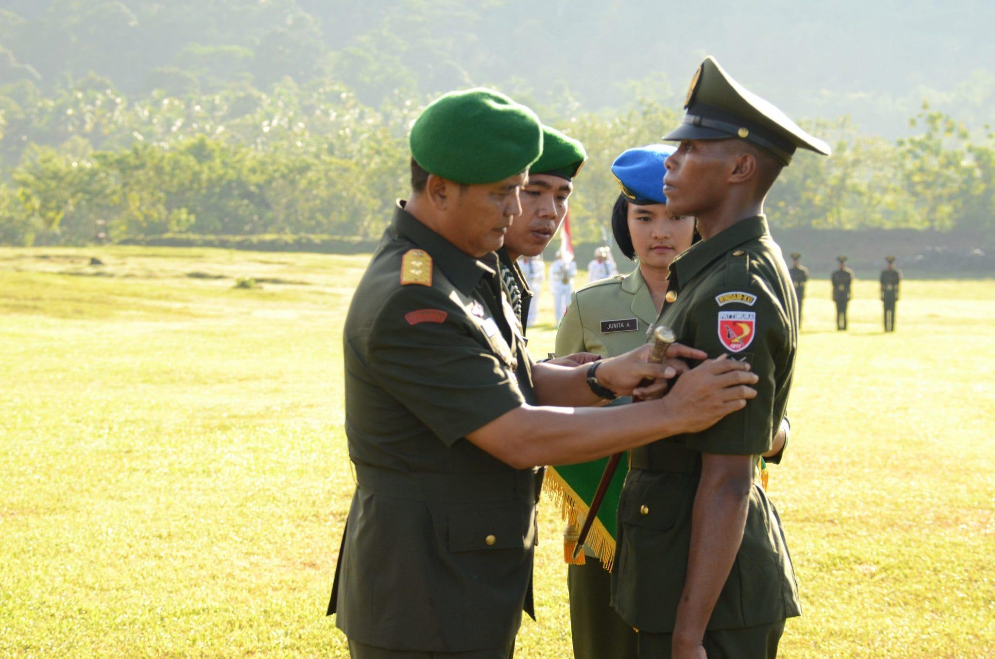 314 PRAJURIT TNI AD SIAP MENGABDI UNTUK BANGSA DAN NEGARA