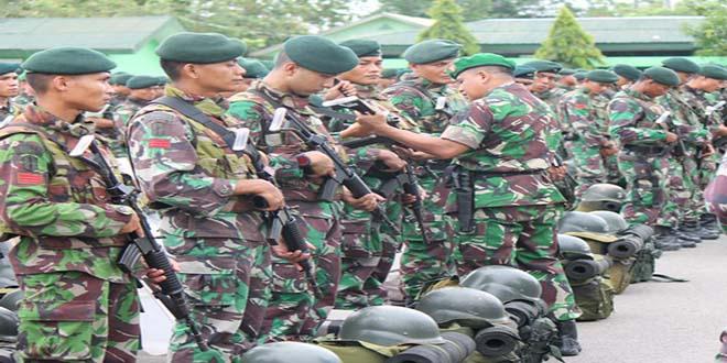 Asops Kasdam IM Cek Kesiapan Prajurit 112/Raider