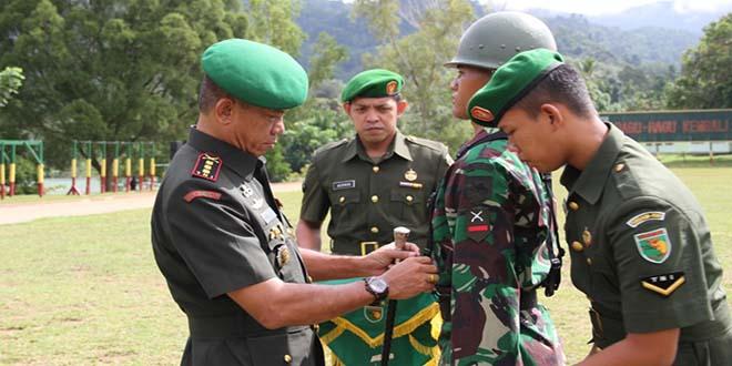 Pendidikan Tamtama TNI AD Gelombang I Tahap I Ta. 2014 Dibuka