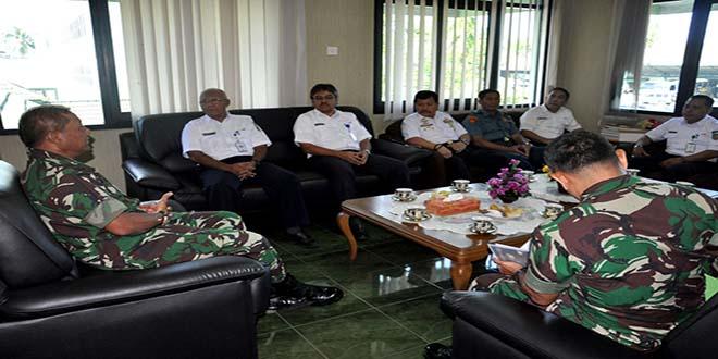 Kodam dan PT. KAI Divre III Sumsel Kerjasama Pengamanan