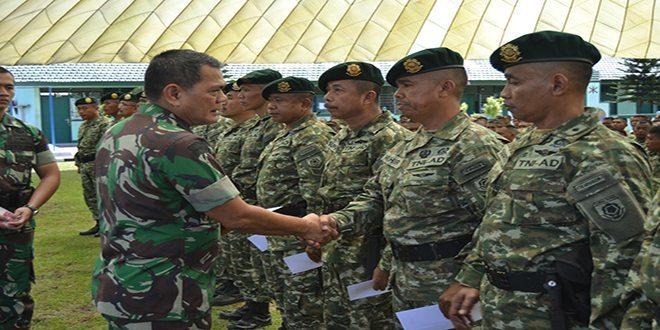 Kasad Jenderal TNI Budiman Kunjungi Batalyon Artileri Pertahanan Udara 1 Kostrad