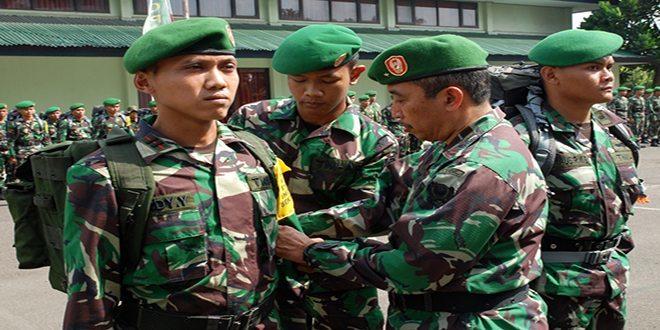 Dirtopad Melepas Satuan Tugas Survei Perbatasan RI-Malaysia TA. 2014