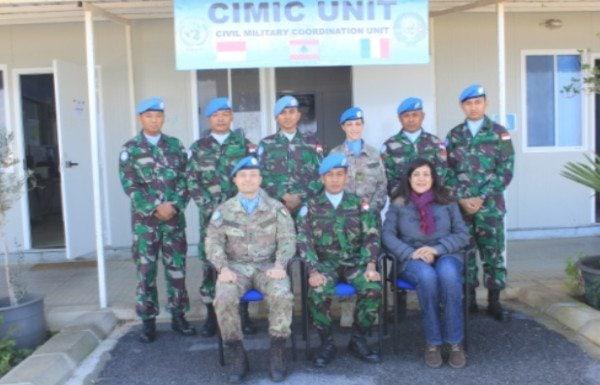 """CIMIC Unit UNIFIL 2014 menyelenggarakan """"Music for Friendship"""" untuk Masyarakat di Lebanon Selatan"""