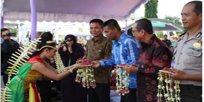Pabung Kodim 1006/Mtp Menghadiri Pembukaan Banjarbaru Fair 2014