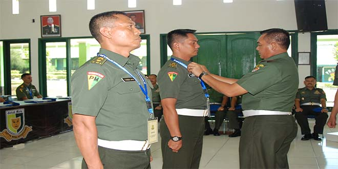 "Danpuspomad : ""Tingkatkan Profesionalisme Polisi Militer TNI AD"""