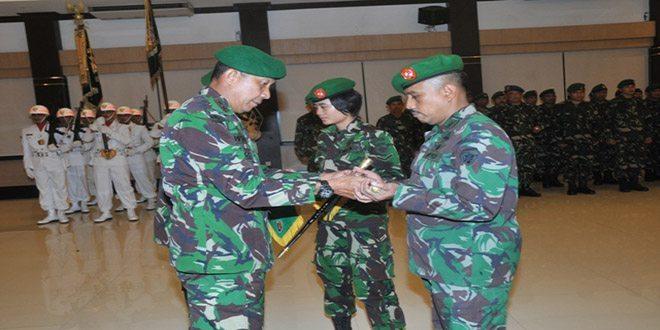 Pangdam IX/Udayana Serahkan Tugas dan Tanggungjawab Jabatan Danrem 163/WSA