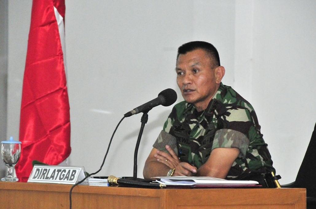 Direktur Latgab TNIBuka Penataran Wasdaldi Sentul