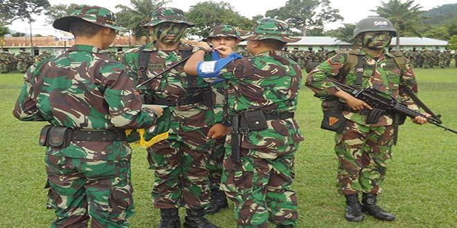 Yonif 641/Raider Membuka Latihan Kemampuan Prajurit