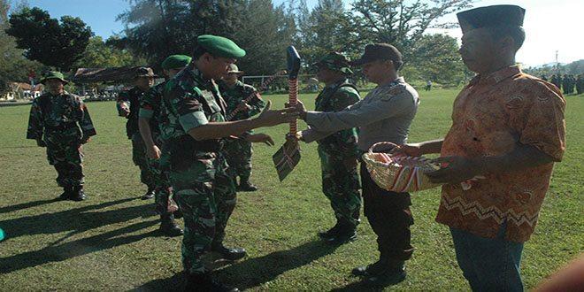 Penutupan Karya Bhakti 2014 di Kabupaten Aceh Jaya