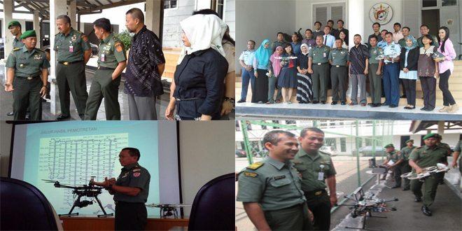 Kuliah Umum Kemampuan Topografi Angkatan Darat Mendukung Manajemen Bencana Alam di Universitas Pertahanan