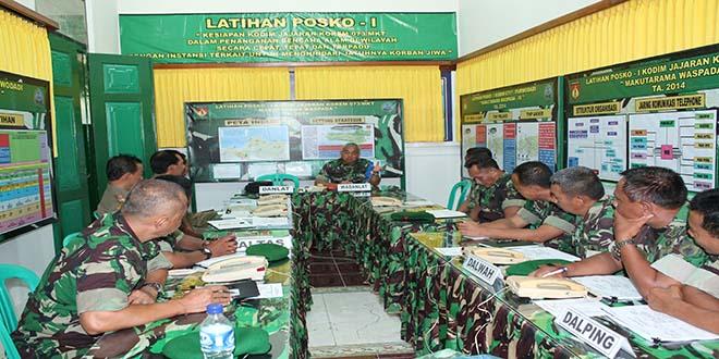Rapatkan Koordinasi, Siap Tangani Bencana Alam