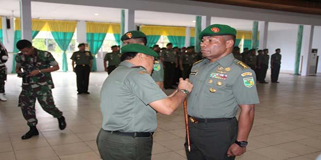 Putra Terbaik Papua Kolonel Inf Joppye Wayangkau Resmi Menjabat Sebagai Irdam XVII/Cenderawasih
