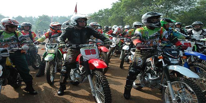 Sebanyak 1.200 Offroader Motor Trail Ikuti Siliwangi Trail Adventure 2014