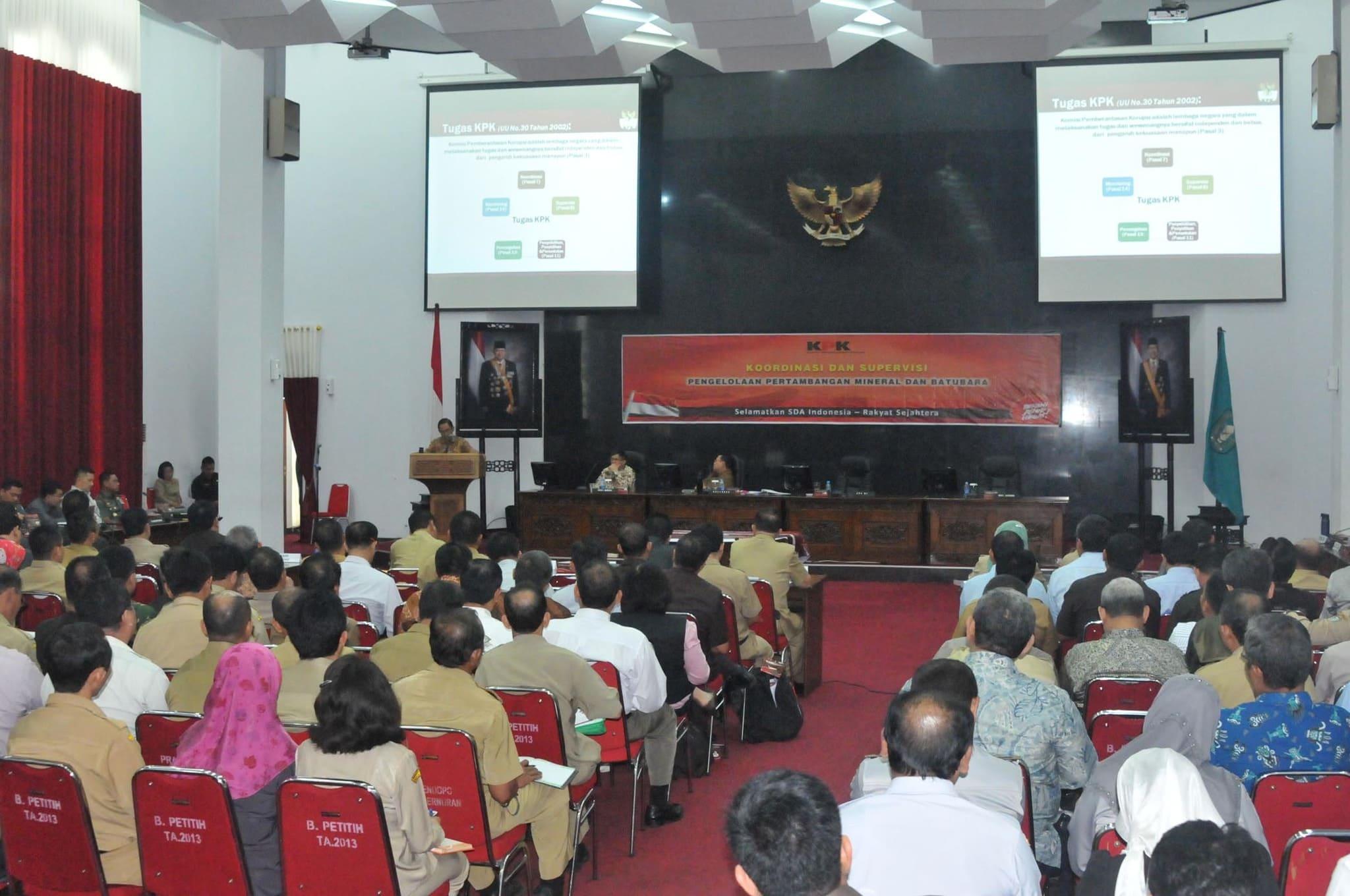 Pangdam XII/Tpr Koordinasi dan Supervisi Pengelolaan Pertambangan Mineral dan Batubara Provinsi Kalbar