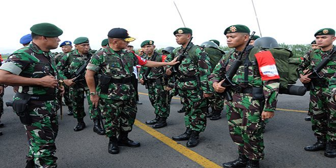 Dirlatgab TNI Tinjau Kesiapan Latgab TNI 2014