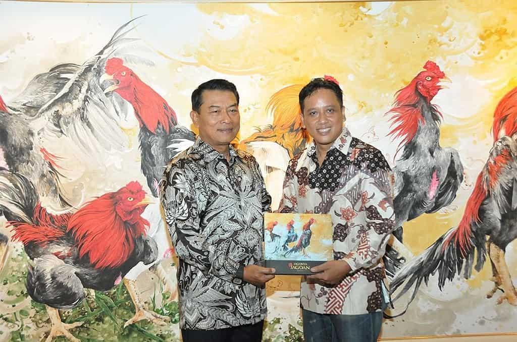 Panglima TNI Buka Pameran Lukisan dan Peluncuran Buku