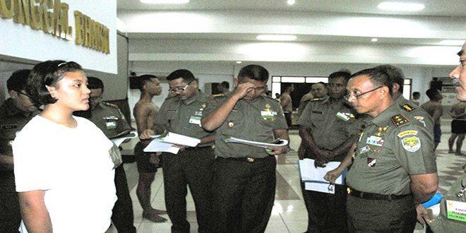 Pangdam Jaya Pimpin Sidang Pantukhir Akmil TA.2014 Panda Jaya