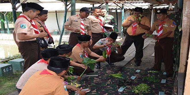 Korem 084/Bhaskara Jaya Buka Latihan Pemantapan Kader Pelatih Pramuka Saka Wira Kartika