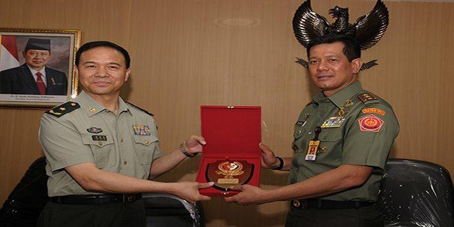 Komandan Paspampres Terima Delegasi China