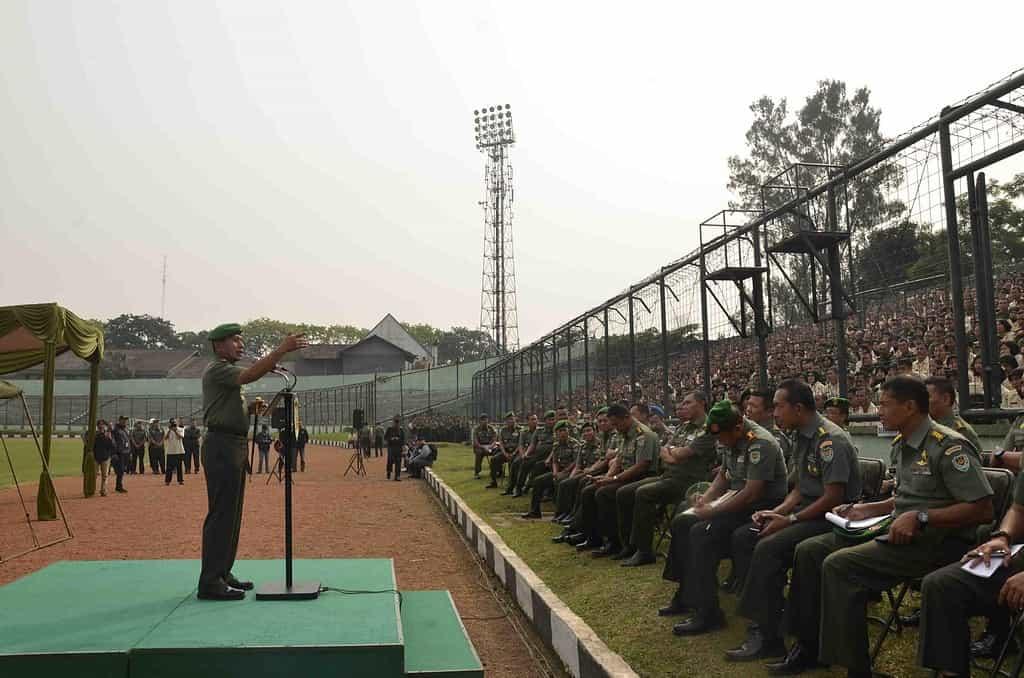 Pangdam : Prajurit Harus Menjaga Netralitas TNI dalam Pemilu Presiden