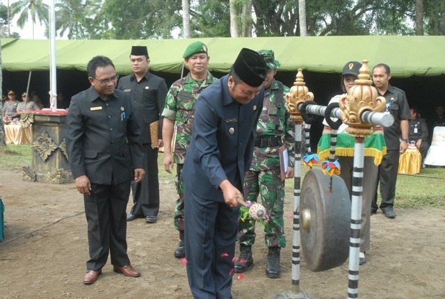 PENUTUPAN TNI MANUNGGAL MEMBANGUN DESA (TMMD) KE-92