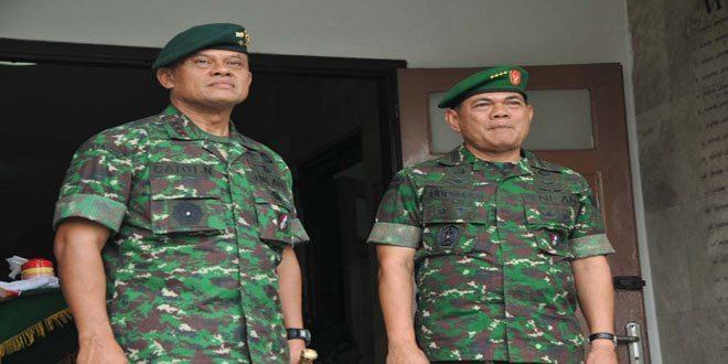 Kasad Jenderal TNI Budiman Kunjungi Markas Kostrad