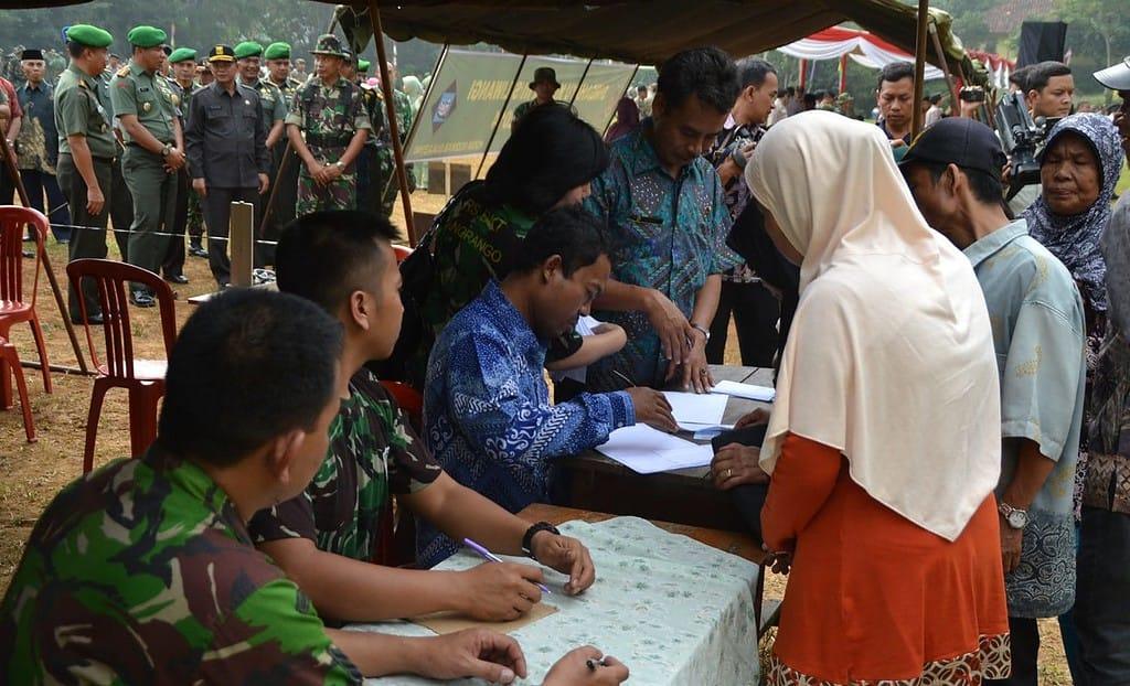 Karya Bakti TNI AD Skala Besar Secara Resmi Ditutup