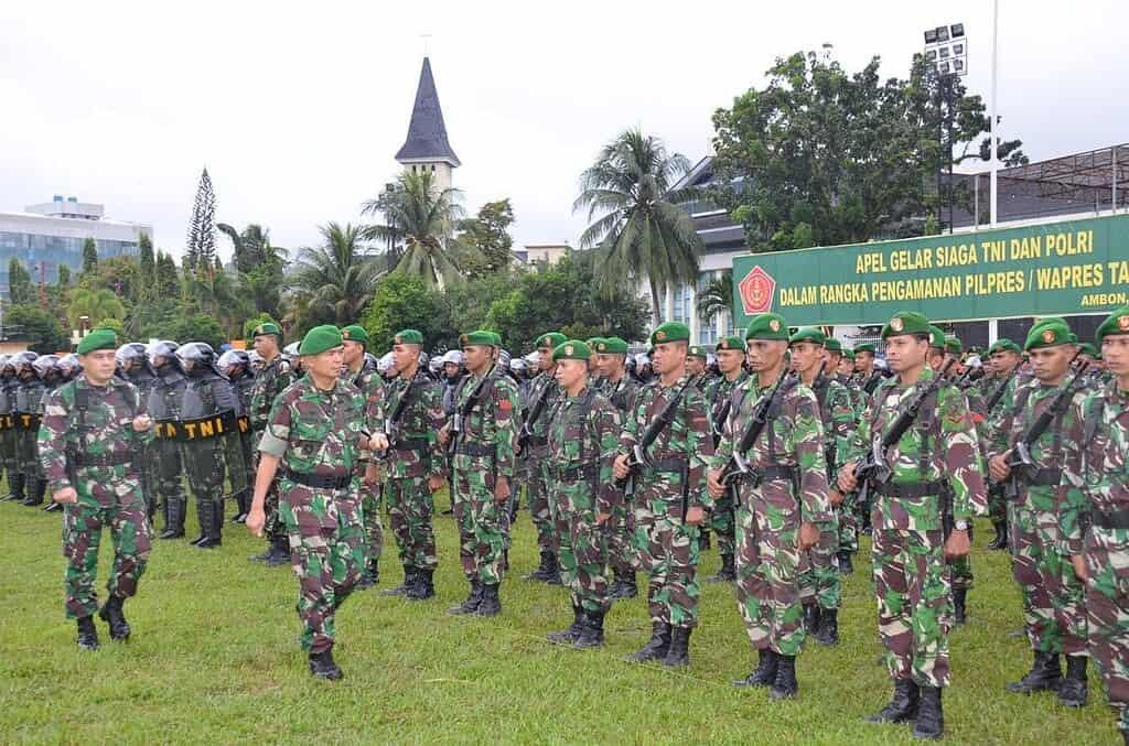 APEL KESIAPSIAGAAN TNI/POLRI DALAM MENGHADAPI PILPRES 2014