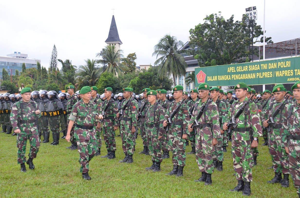 Apel Gelar Siaga TNI & POLRI