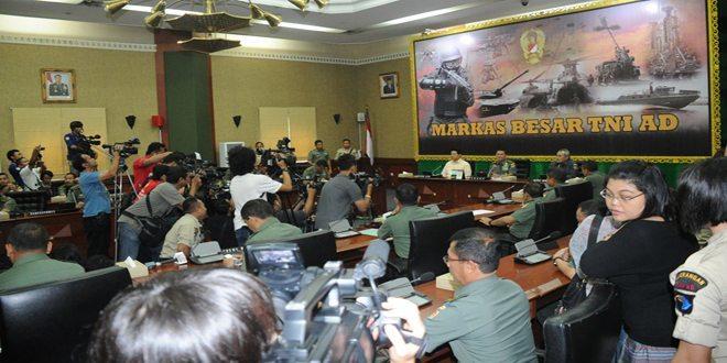 Kasad : Tingkatkan Kesiapsiagaan Dalam Pengamanan Pilpres 2014