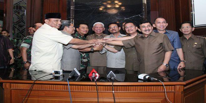 Panglima TNI Gelar Pertemuan Bersama Beberapa Gubernur
