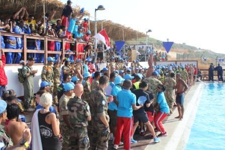 KONTINGEN GARUDA TNI RAIH PRESTASI DI LEBANON
