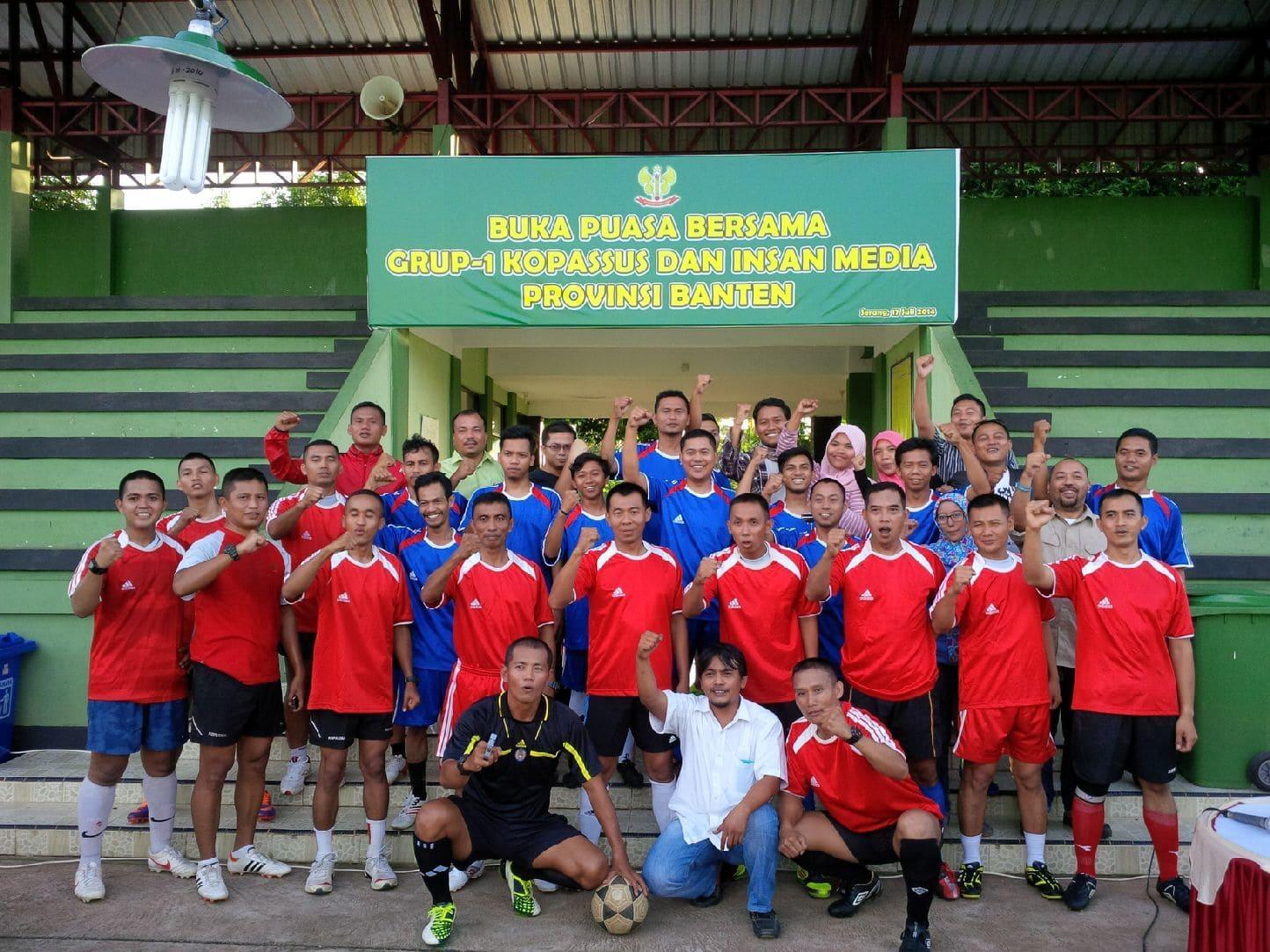 Buka Puasa bersama Grup-1 Kopassus dan Insan media provinsi Banten