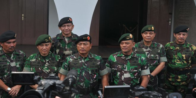 Kostrad Terima Kunjungan Panglima TNI