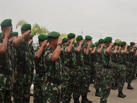 Kodam XII/Tpr Siapkan Personel Pengamanan Pilpres 2014