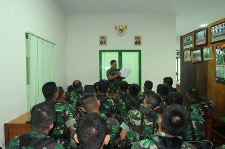 Kapendam XII/Tpr Orientasi 22 Orang Pama Secapa AD TA. 2014